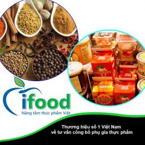 công bố phụ gia thực phẩm